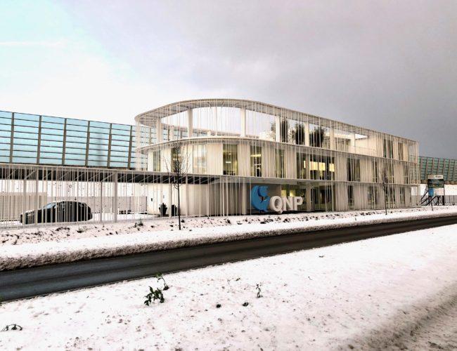 Kantoor QNP – Princenhagelaan Sneeuw 01 – 12-12-2017